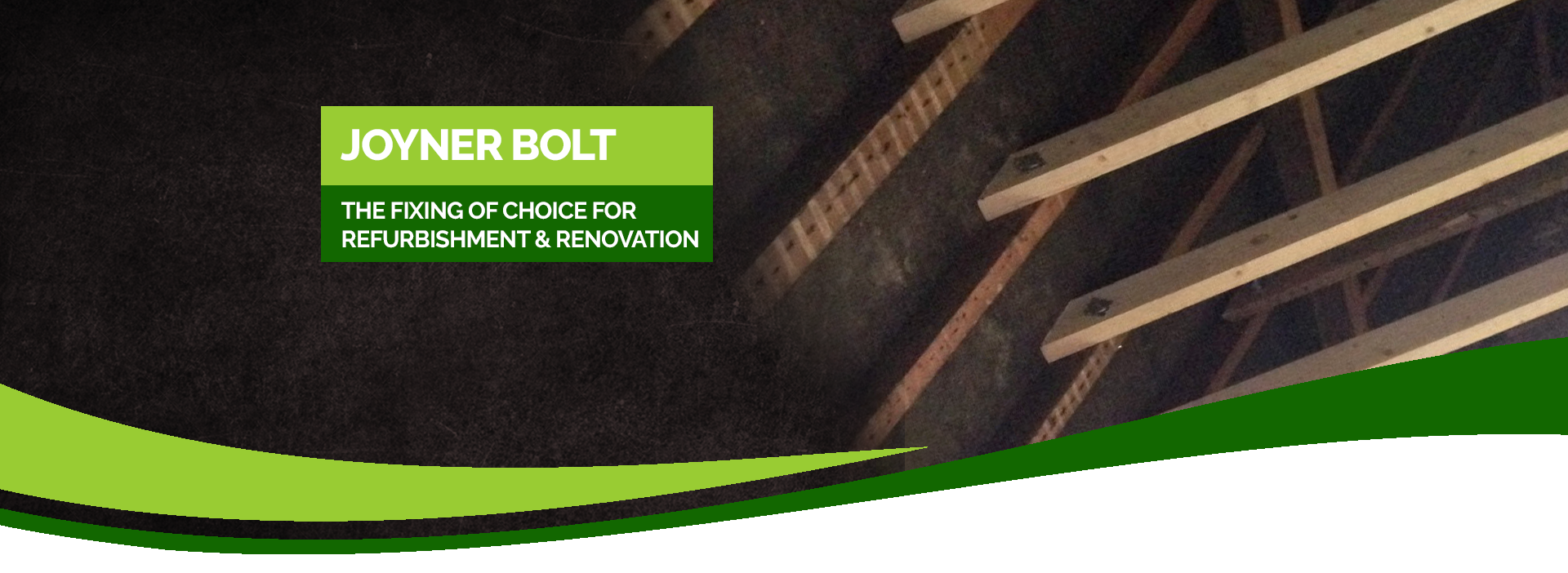 Roof structure timber fixing bolt