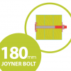 timber fixing bolt 180mm