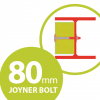80mm joyner bolt